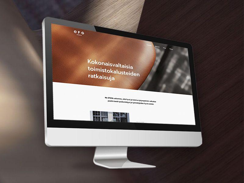 verkkosivusuunnittelu