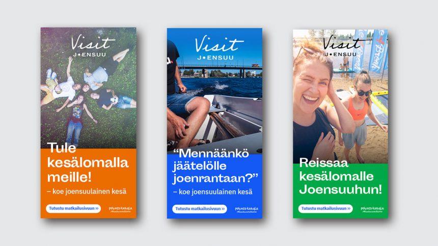 Hurry Visit Joensuu digimarkkinointi